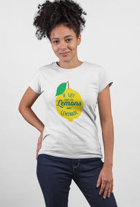 Lemonade Short Sleeve T-Shirt for Girls - stylewati.com