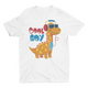 Cool Boy Danno - Short Sleeve White T-Shirt For Kids - stylewati.com