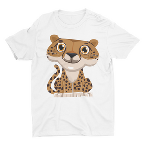 Tinku Tiger- Short Sleeve White T-Shirt For Kids - stylewati.com