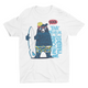Awsome Time Bear - Short Sleeve White T-Shirt For Kids - stylewati.com