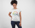 Life Is A Box Of Colors - Cotton T-Shirt for Girls