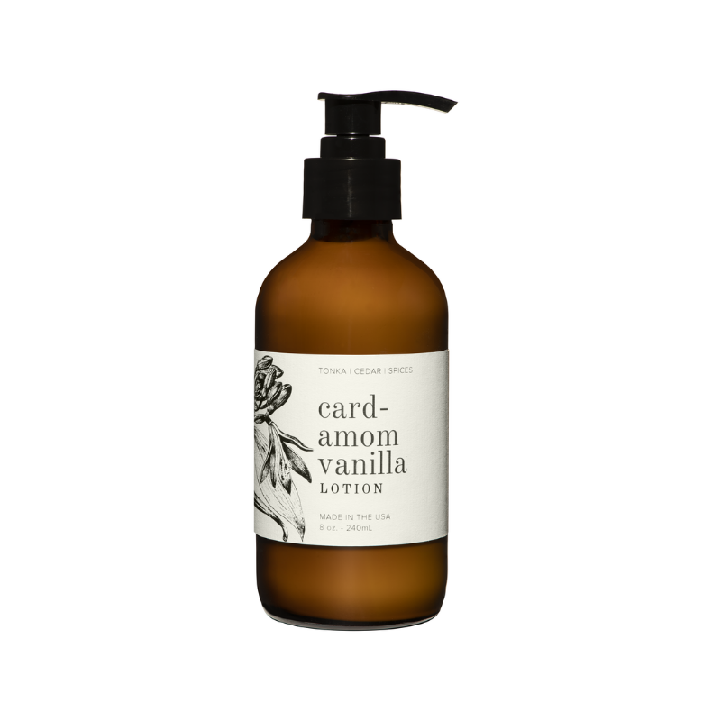 Cardamom Vanilla Lotion (White Pump)