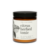 Citrus Herbed Tonic Large Candle