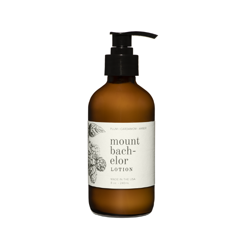 Mount Bachelor Lotion (White Pump)
