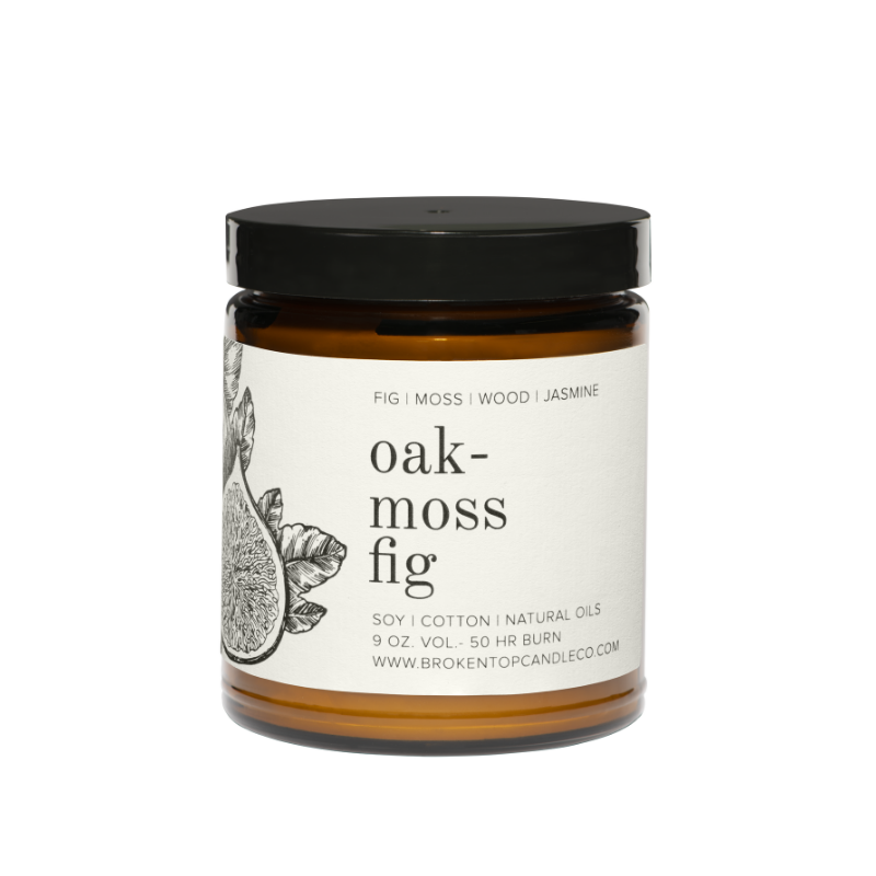 Oakmoss Fig Large Candle