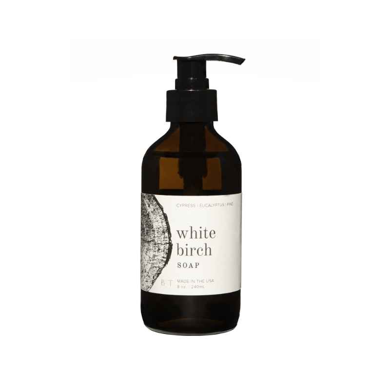 White Birch Soap (White Pump)