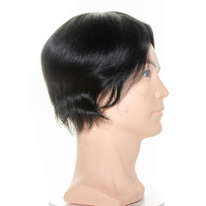 Human Hair Toupee for Men hair Replacement - Ziling-Hair
