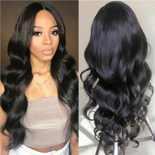 13*4 lace front body wave remy human hair wig - Ziling-Hair