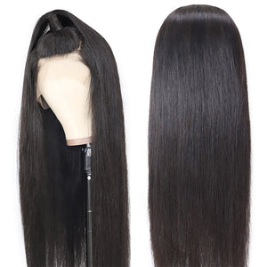 360 lace frontal straight remy human hair wig - Ziling-Hair