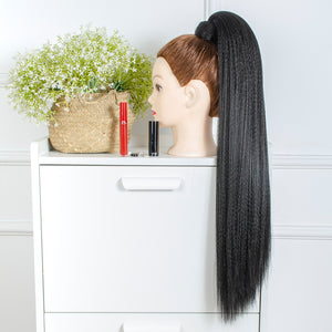 "best premium  26"" long kanekalon synthetic sleek ponytails - Ziling-Hair"