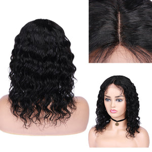 5*5 lace closure loose wave remy human hair wig - Ziling-Hair