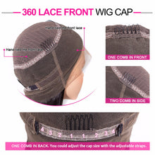 Load image into Gallery viewer, 360 lace frontal curly remy human hair wig - Ziling-Hair