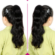 Load image into Gallery viewer, body wave drawstring human hair ponytail - Ziling-Hair
