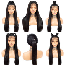 Load image into Gallery viewer, 360 lace frontal straight remy human hair wig - Ziling-Hair