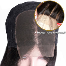 Load image into Gallery viewer, 5*5 lace closure straight remy human hair wig - Ziling-Hair