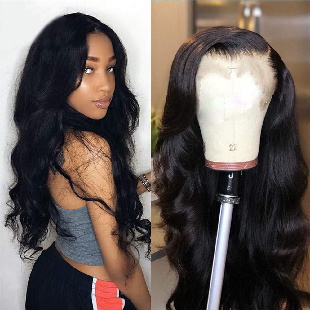 360 lace frontal body wave remy human hair wig - Ziling-Hair