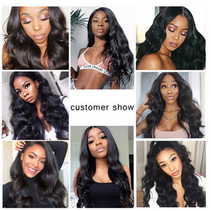 13*6 lace front body wave remy human hair  wigs - Ziling-Hair