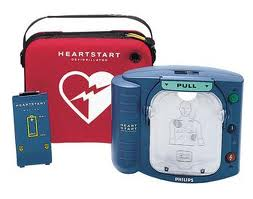 Philips Heartstart OnSite AED With Slim Carrying Case