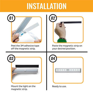 Multi-Use Motion Sensor LED Lights - Inspire Hero