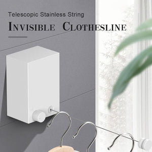 Invisible String Clothesline