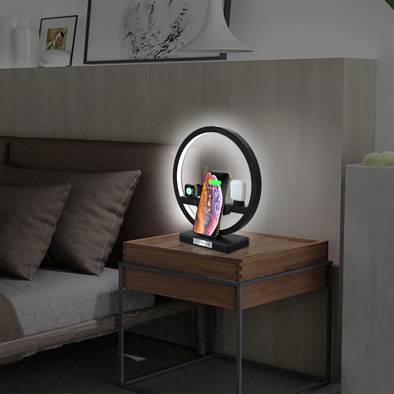 3 in 1 LED Lamp Charging Dock