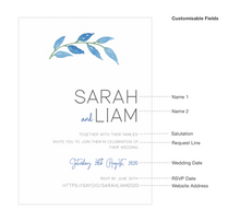 Load image into Gallery viewer, Coburg Wedding Invitations