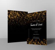 Load image into Gallery viewer, Glimmering Night Wedding Invitations