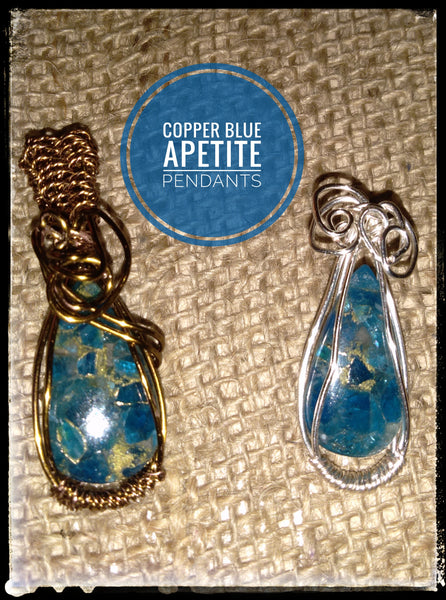 Copper Blue Apetite, Item # P063 (Left Pic)
