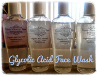 GLYCOLIC ACID FACE WASH -   Springtime Meadow (4oz)