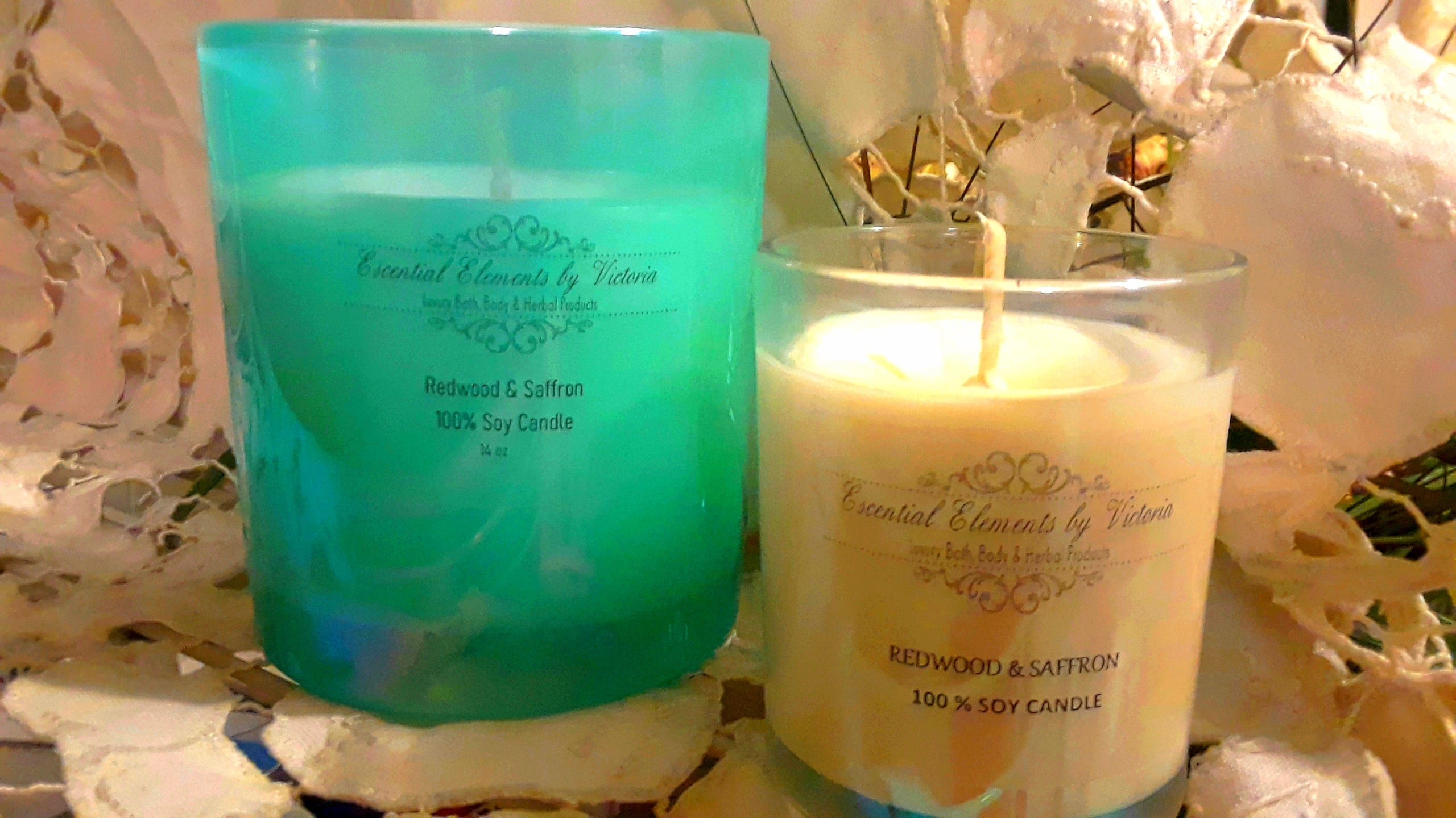 100% Soy Wax Candles - EARTH.EVERGREEN COLLECTION -14 oz