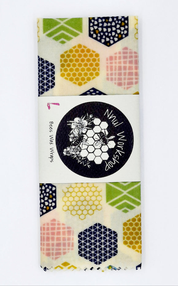 Single Large Beeswax Wraps