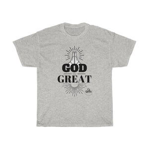 God Is Great Tee (Black Lettering)