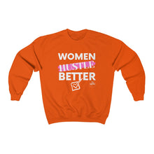 Load image into Gallery viewer, Women Hustle Crewneck Sweatshirt
