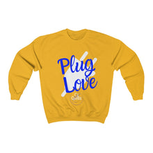 Load image into Gallery viewer, Plug Love Blue Crewneck Sweatshirt