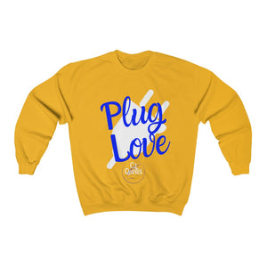 Plug Love Blue Crewneck Sweatshirt