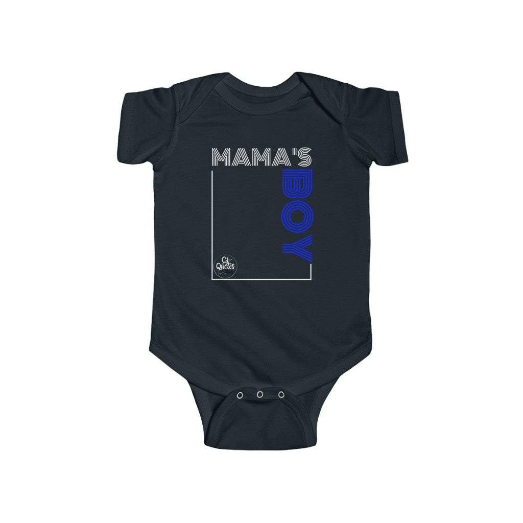 Mama's Boy Infant Fine Jersey Bodysuit