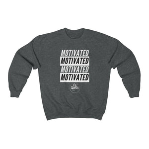 Motivated Crewneck Sweatshirt (White Print)