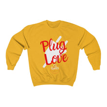Load image into Gallery viewer, Plug Love Red Crewneck Sweatshirt