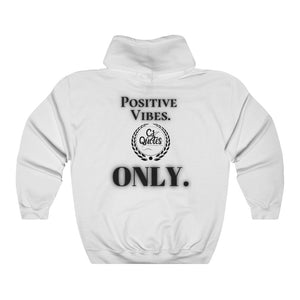 Positive Vibes (Black) Unisex Heavy Blend™ Hooded Sweatshirt