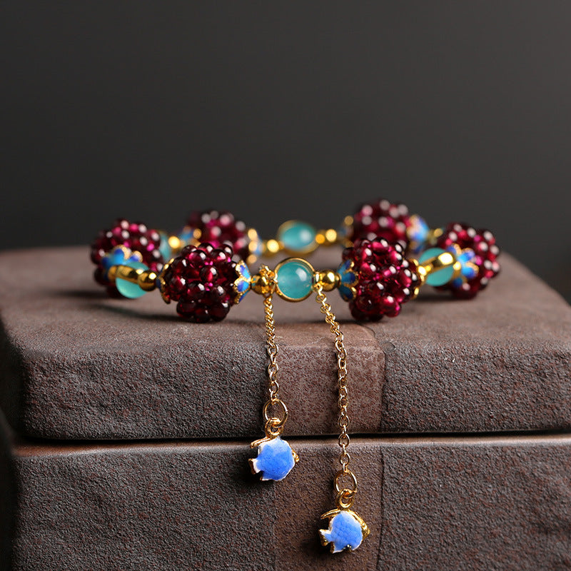 Purple Grape Bracelet-3