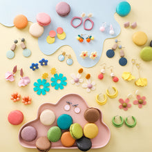 Load image into Gallery viewer, Sweet Macarons Earrings-27