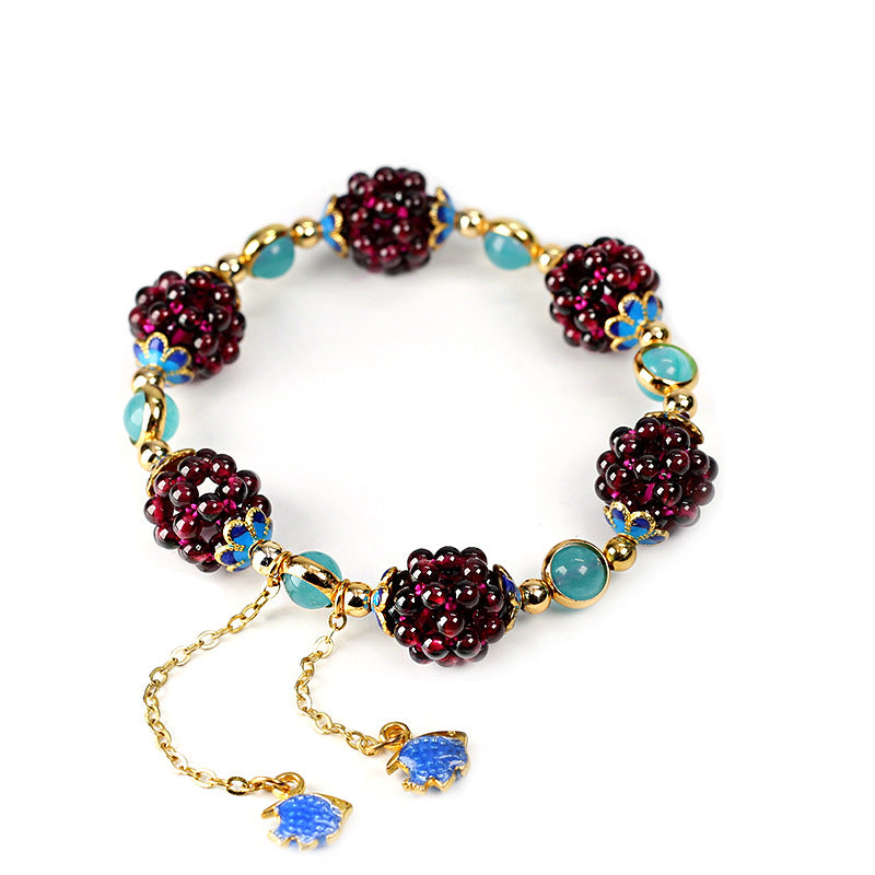 Purple Grape Bracelet-1