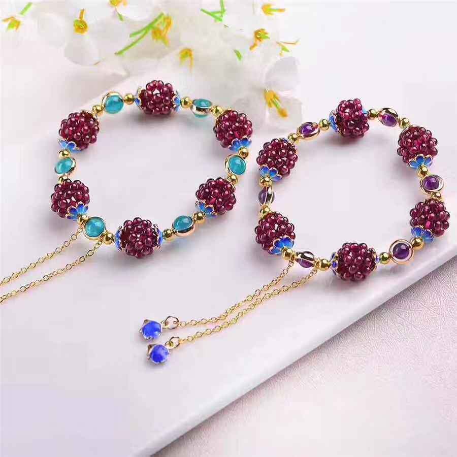 Purple Grape Bracelet-2