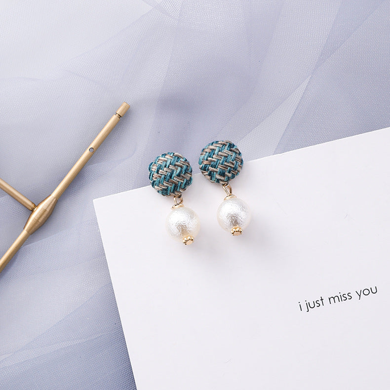 Foggy Rain Earrings-9