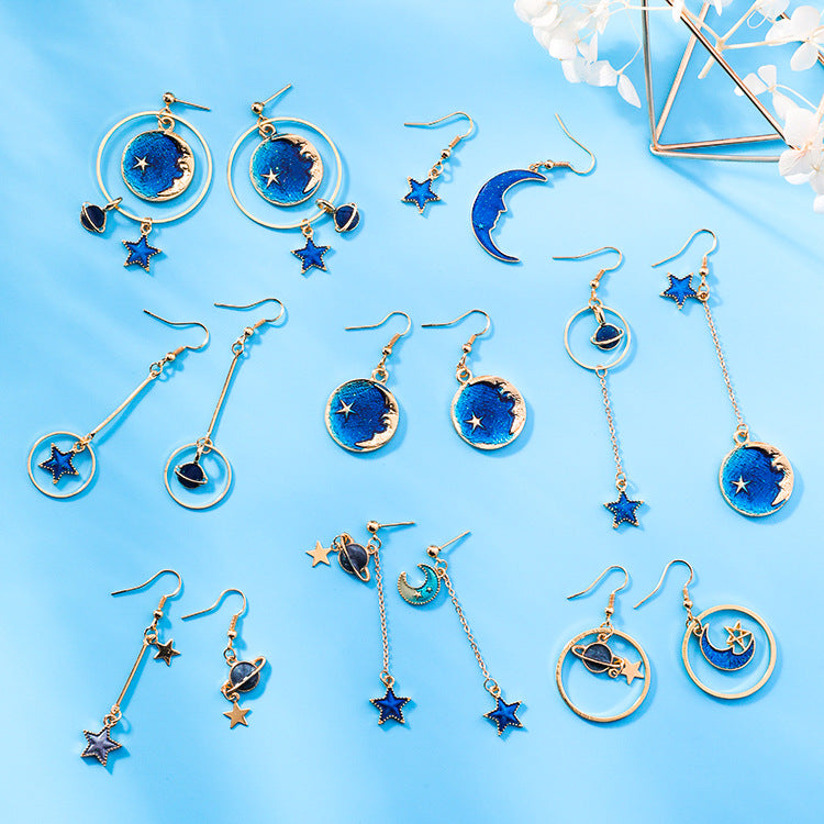 Mystery Sky Earrings-1