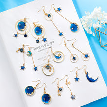 Load image into Gallery viewer, Mystery Sky Earrings-3