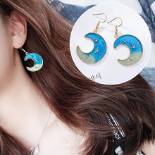Load image into Gallery viewer, Mystery Sky Earrings-16