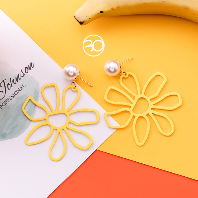 Energy Sunflower Earrings USA