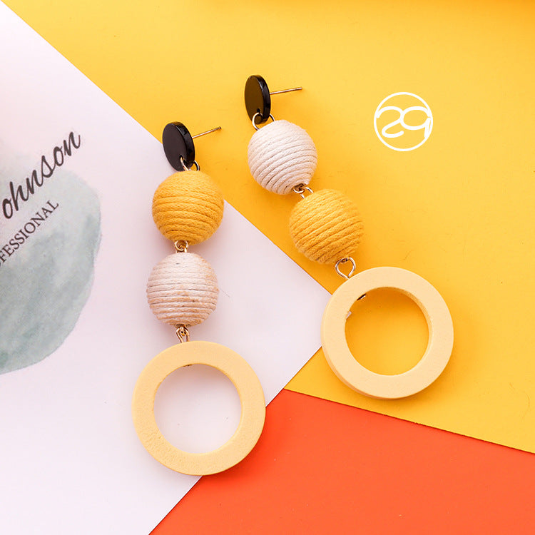 Energy Sunflower Earrings Wearlikes