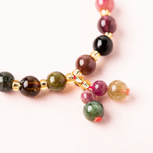 Load image into Gallery viewer, Girlish Cute Tourmaline Crystal Bracelet